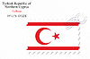 Vector clipart: turkish republic of northern cyprus stamp design