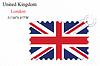 Векторный клипарт: Великобритания штамп дизайн