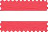 wrinkled paper austria stamp