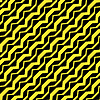 Vector clipart: diagonal curved yellow stripes