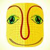 funny mardi gras mask