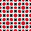 Vector clipart: red circles abstract texture