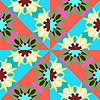 Vector clipart: seamless abstract geometric pattern