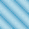Vector clipart: stripy diagonal blue curved pattern