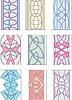 Набор орнаментов в стиле маньеризма