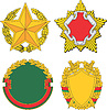 Vector clipart: Belarus emblematic and heraldic templates