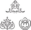 Vector clipart: Decorative vignettes