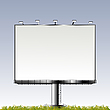 Vector clipart: Grand outdoor billboard