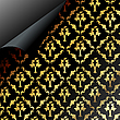 Vector clipart: Seamless dark pattern design