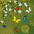 Vector clipart: Spring time background