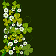 Vector clipart: St. Patrick Day card