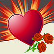 Vector clipart: Valentine's Day illustration