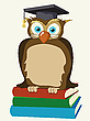 Vector clipart: Wise owl