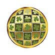 Vector clipart: st. Patrick's day button