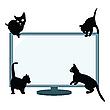 Katzen Silhouetten