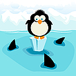 Vector clipart: Penguin