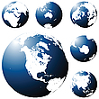 Vector clipart: Earth globe