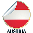 Vector clipart: Austria Sticker