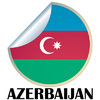 Vector clipart: Azerbaijan Sticker