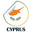 Vector clipart: Cyprus Sticker