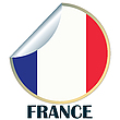 Vector clipart: France Sticker