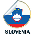 Vector clipart: Slovenia Sticker