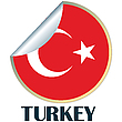 Vector clipart: Turkey Sticker