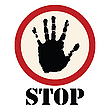 Vector clipart: Stop sign