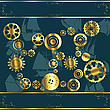 Cogwheel gears | Stock Illustration
