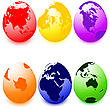 Easter eggs  | Stock Illustration