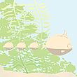 Fish family   Stock Illustration