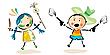 Photo 300 DPI: Happy kids