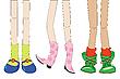 Fashion girls | Stock Illustration
