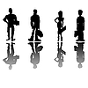 Vector clipart: Business people