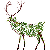 Vector clipart: Deer illustration