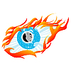 Vector clipart: Eye sketch