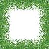 Векторный клипарт: рамка-трава