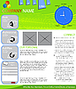 Vector clipart: web page layout