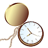 Vector clipart: pocket watch