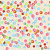 Vector clipart: Seamless candy background