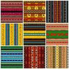 Декоративные традиционные орнаменты-шаблоны