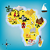 Travel Africa map | Stock Vector Graphics