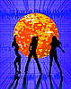 Vector clipart: Disco music party