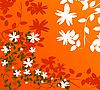 Vector clipart: Floral wallpaper