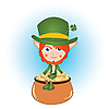 Leprechaun | Stock Vector Graphics