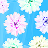 Pastel flowers | Stock Illustration