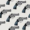 Vector clipart: Revolver pattern