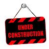 Bajo construcción | Ilustración vectorial