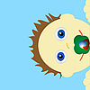 Vector clipart: Baby
