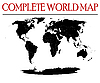 Vector clipart: complete world map